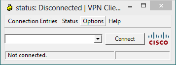 Fix for Cisco VPN Client x64 Screen shot