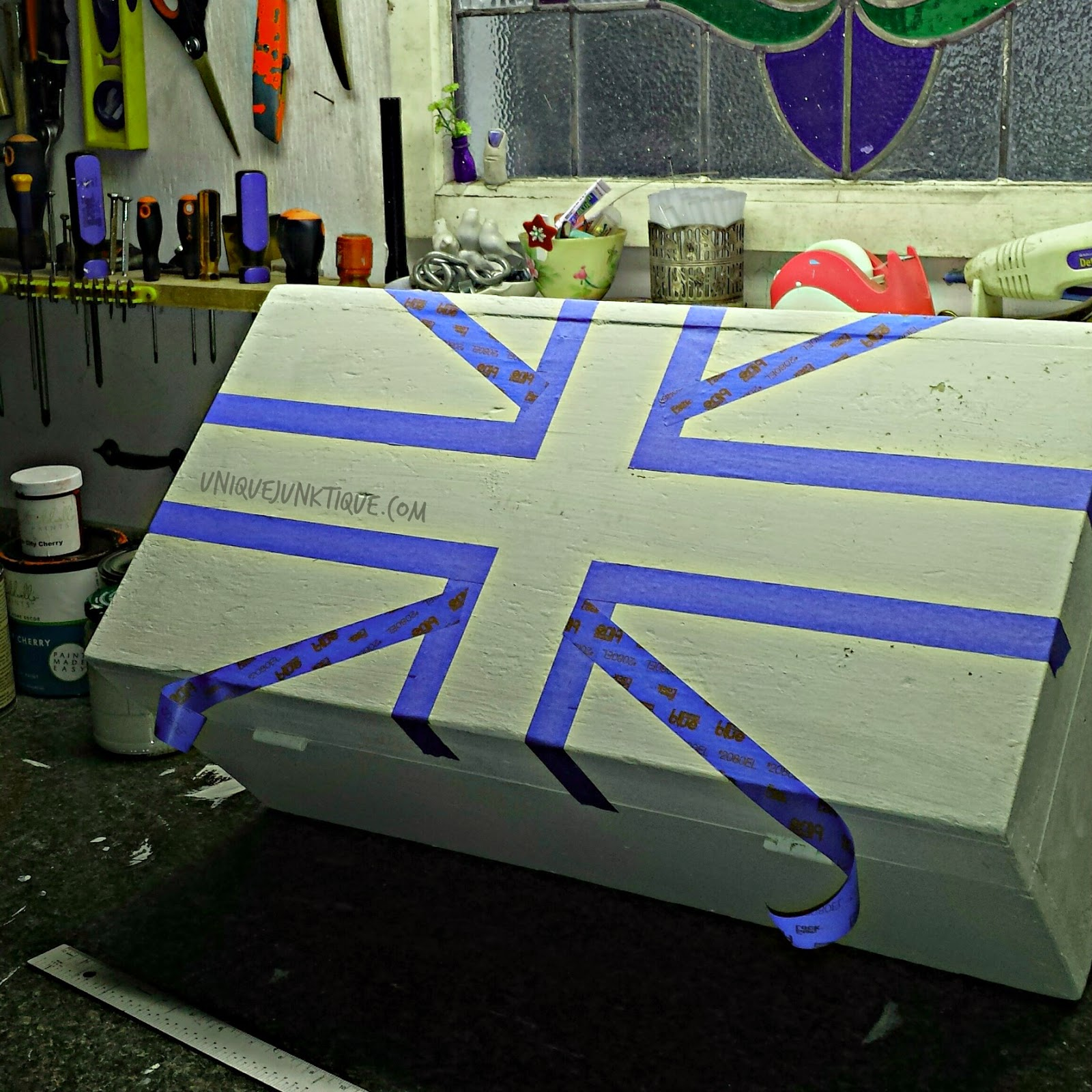 Union Jack Taping Technique part 1