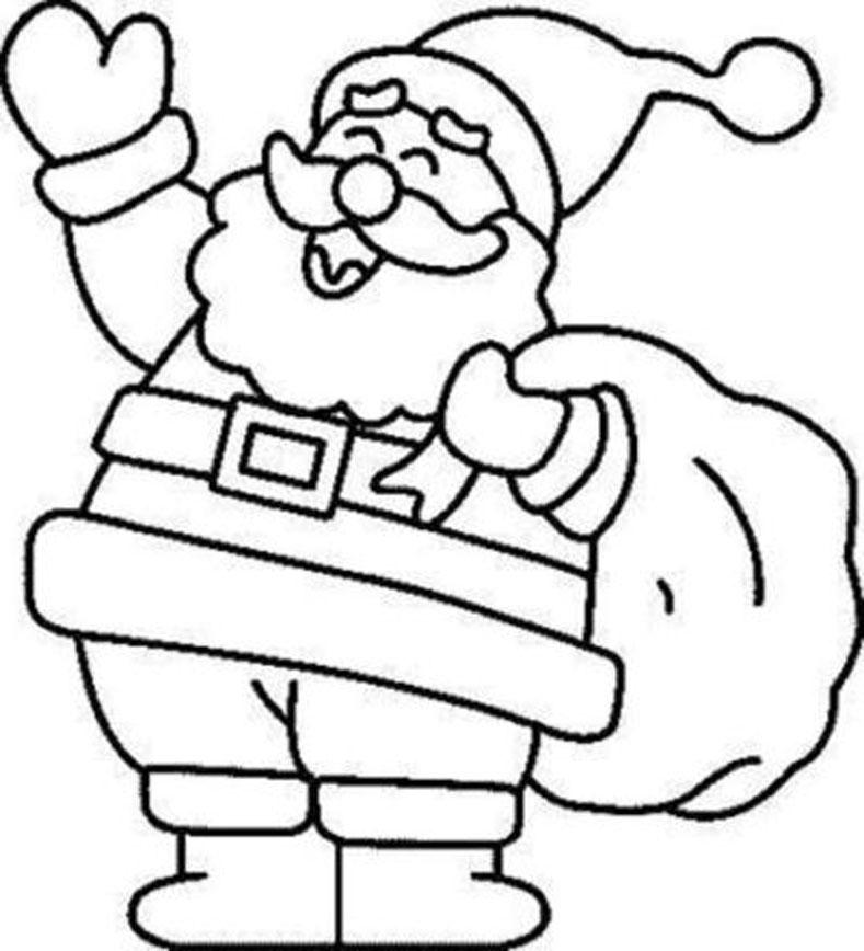 colorear dibujos y unir puntos: dibujos de navidad para colorear