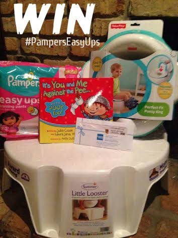 Pampers Easy Ups Giveaway 4/20 - 4/28 + Twitter Party (4/21 9PM Est.!)