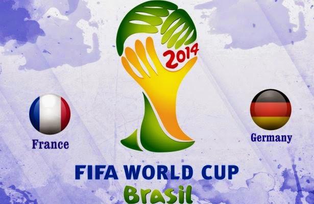 Prediksi Skor Prancis vs Jerman 4 Juli 2014 Piala Dunia