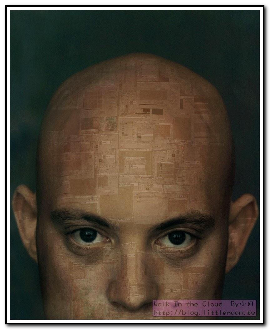 3D立體貼圖 (把圖貼在人臉上)