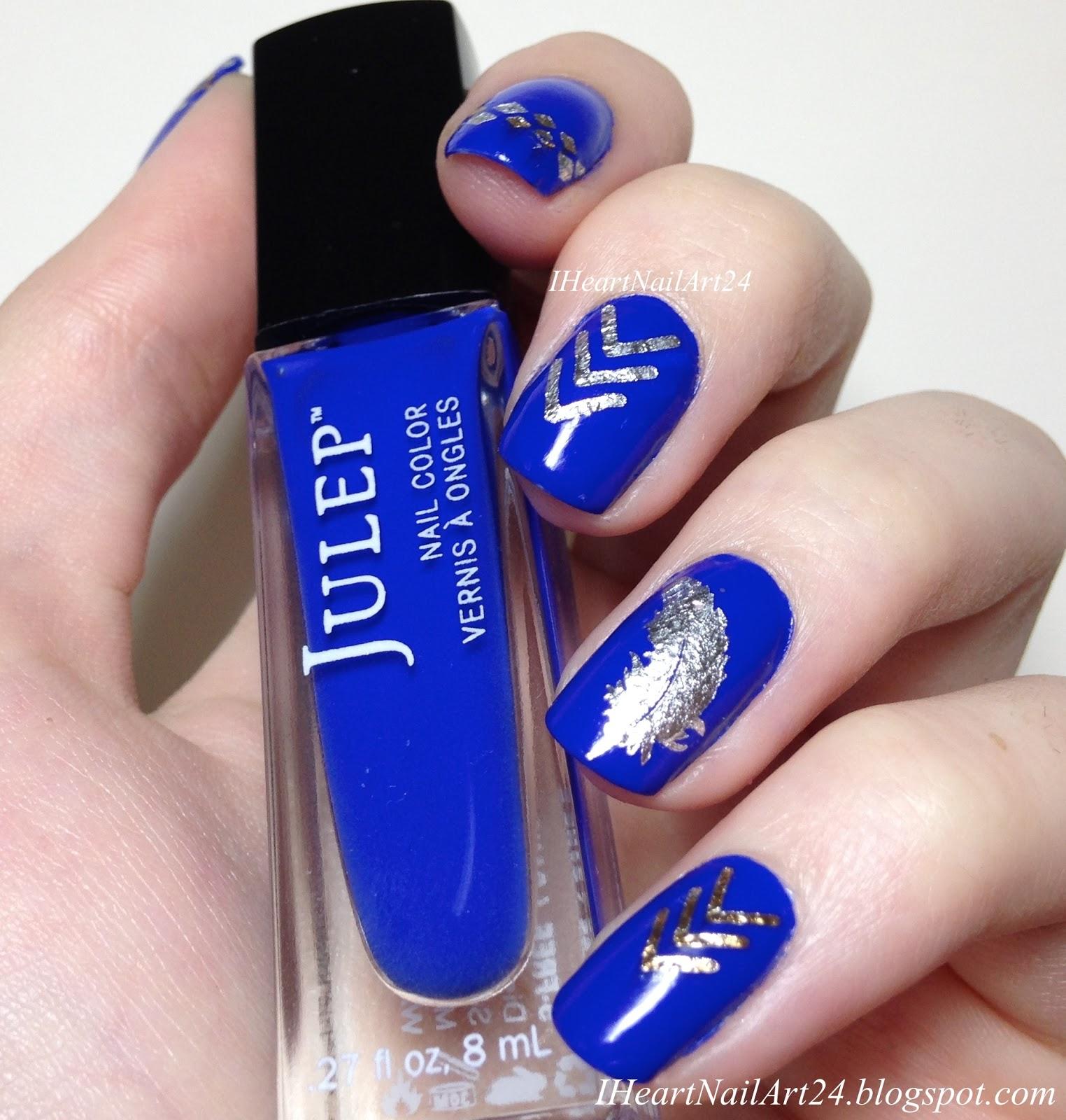 Nail Tattoo Nail Art with Julep Sophia | I Heart Nail Art