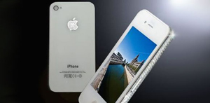 iPhone 4 White Diamond Editions, Dibanderol US $ 20.000