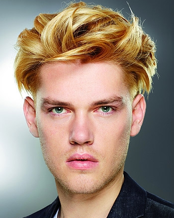 Potongan gaya rambut pria 2013