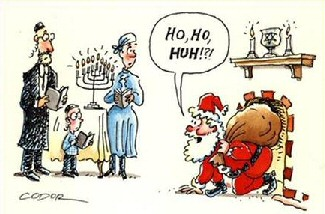 chanukah and christmas confusion