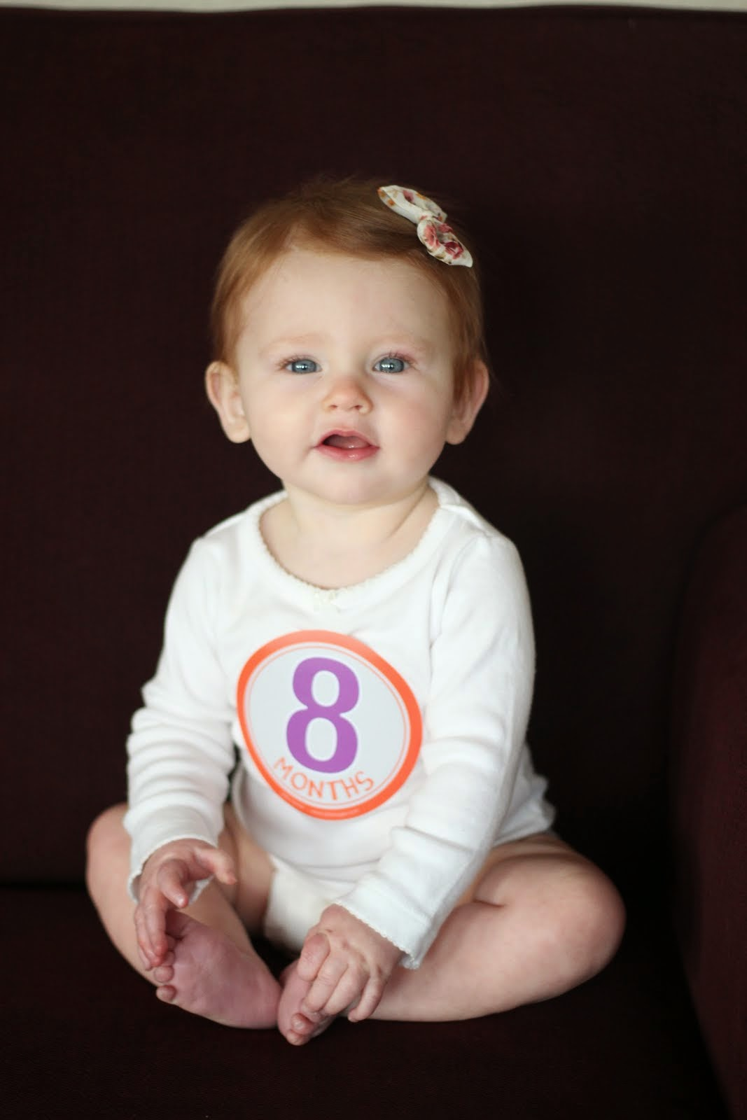 Nora at 8 Months