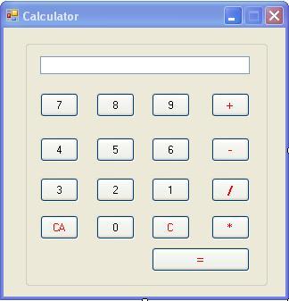 C#(Sharp).NET: C#(Sharp) Code to Make Simple Calculator -Program