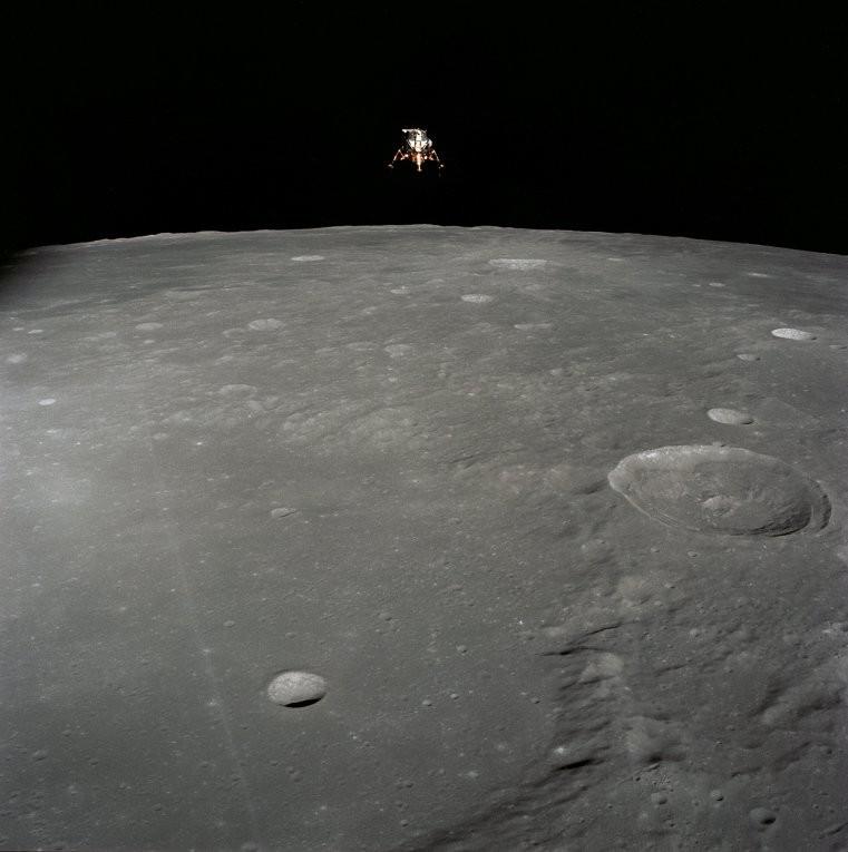La NASA revela fotografía de alunizaje