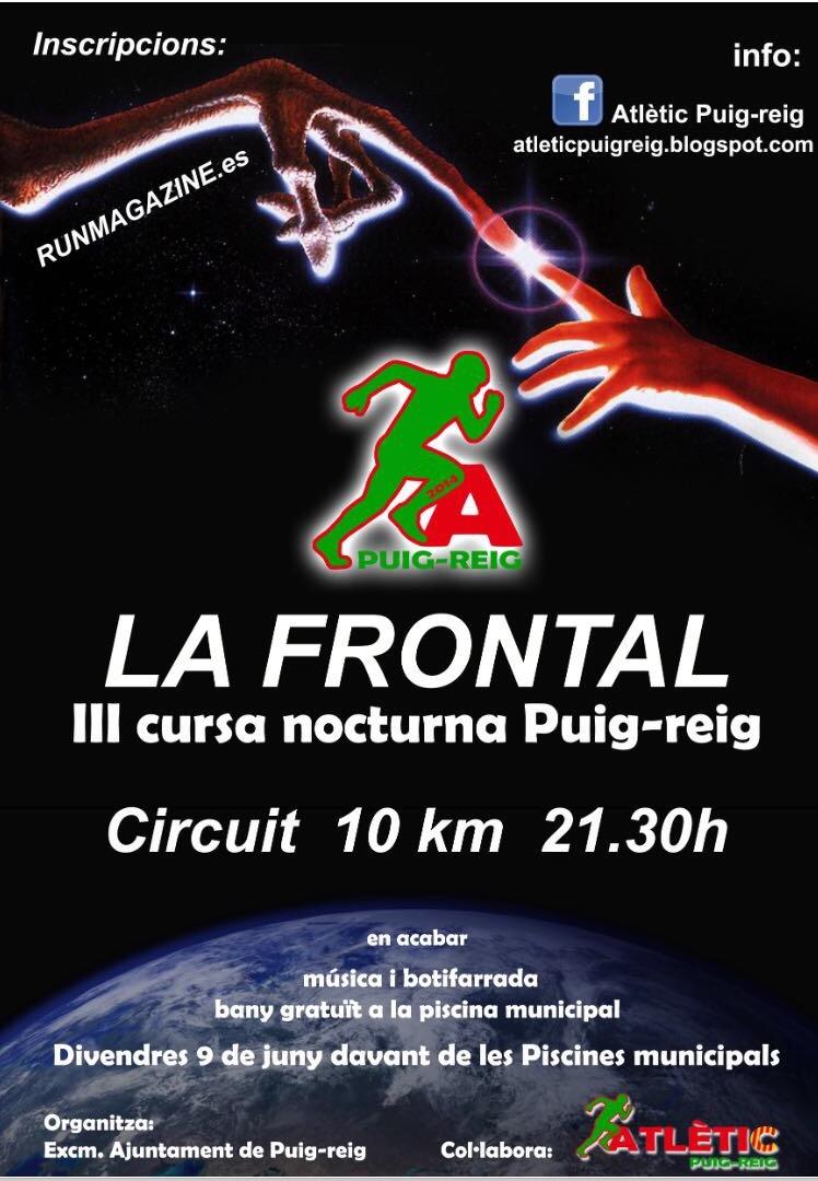 "La III Frontal ""cursa nocturna"""