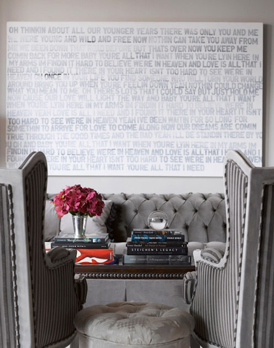 molly sims apartment, matthew heller art, kishani perera interiors