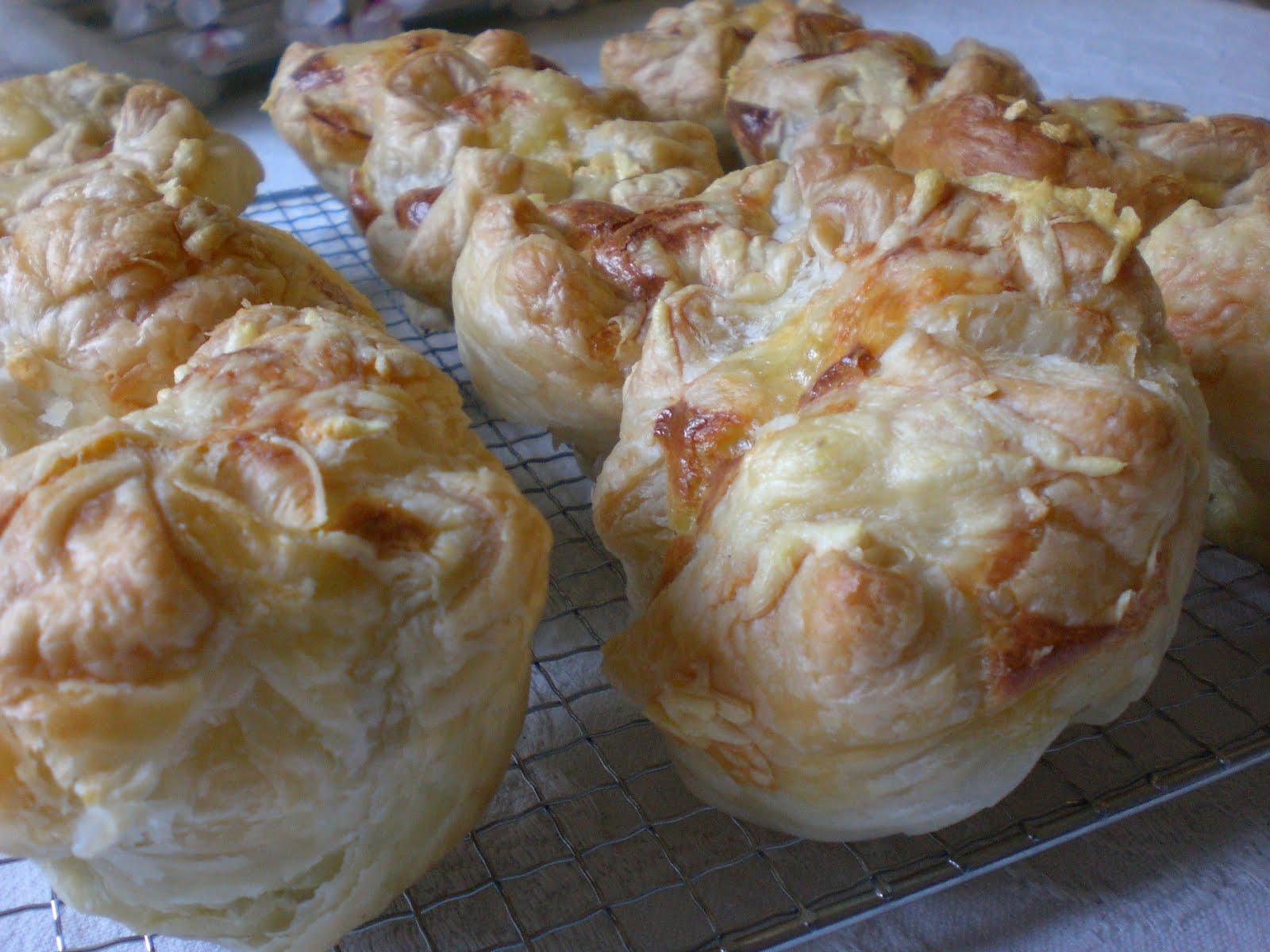 Käse Schinken Muffins Im Blätterteig Christinas Catchy Cakes