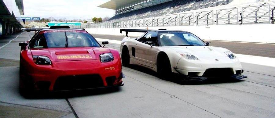 wyścigi, sportowe samochody, typowa Honda