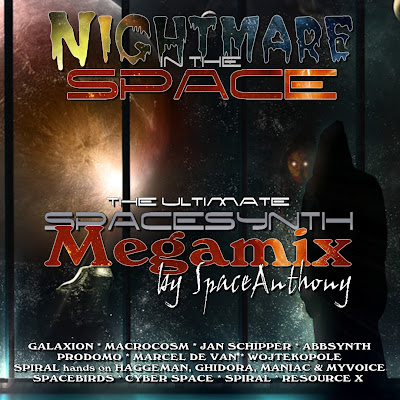 NIGHTMARE IN THE SPACE - The Ultimate Spacesynth Megamix (by SpaceAnthony)