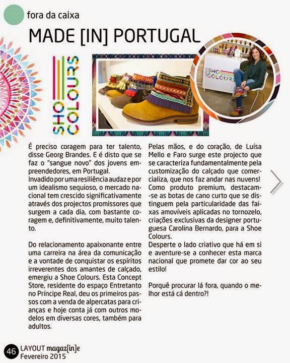 Shoe Colours - marca portuguesa de sapatos e botas