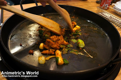 Yoogane's Marinated Chicken Galbi Fried Rice