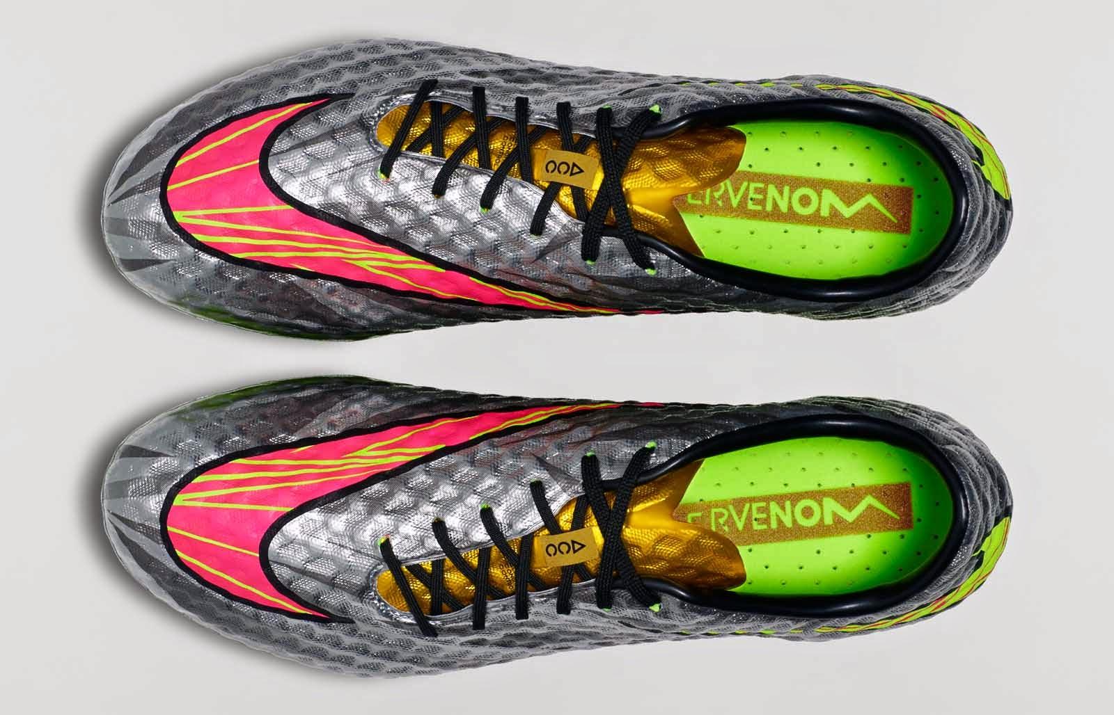 "... Nike Hypervenom Silver ""Liquid Diamond"" Neymar terbaru 2015. Semoga"