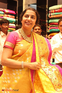 Suhasini Manirathnam Pictures in Saree at Kalanikethan Store Launch 0005