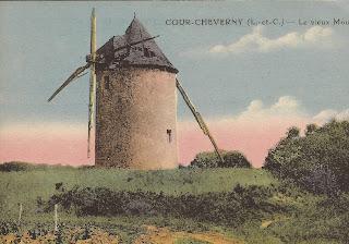 Moulin à vent - Cour-Cheverny