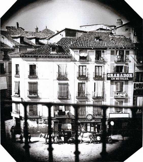Historias Matritenses La Puerta Del Sol Y La Primera Foto
