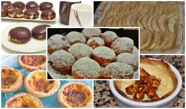 Dulces Caseros con Crema Pastelera
