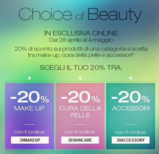KIKO - Choice of Beauty - 20% di sconto