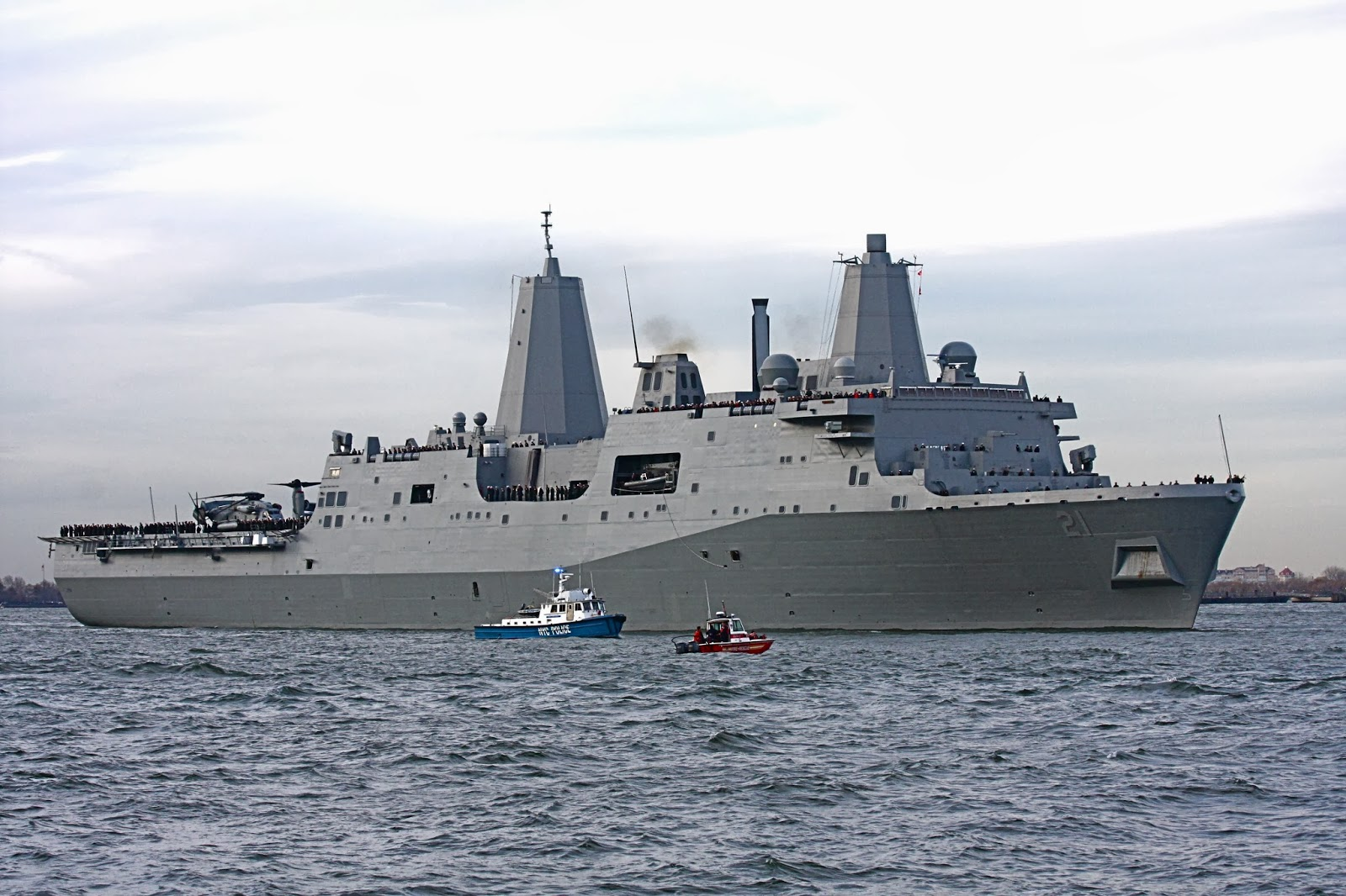 Florida Cruise Traveler Navy Uss New York Lpd 21 To