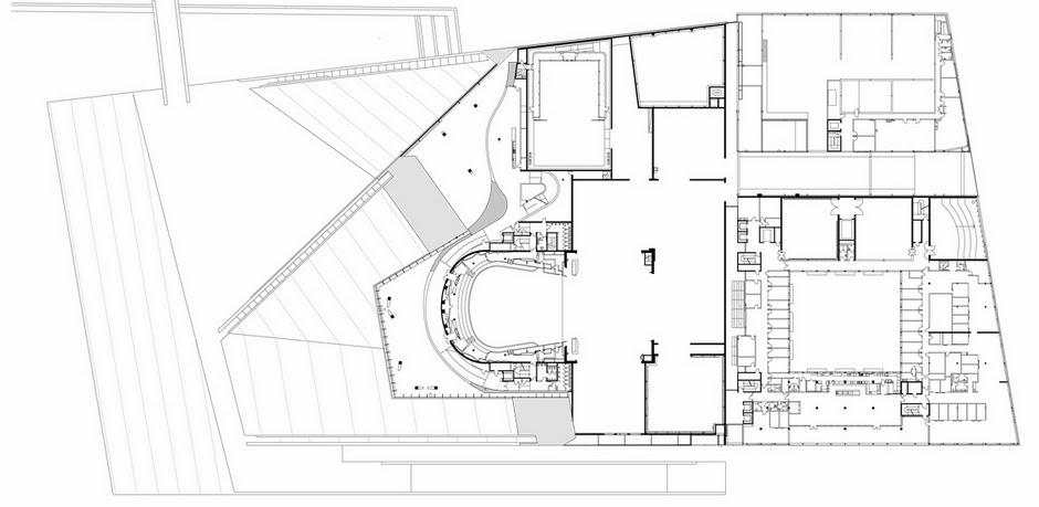 مخططات مشروع دار أوبرا أوسلو بالنرويج  Second