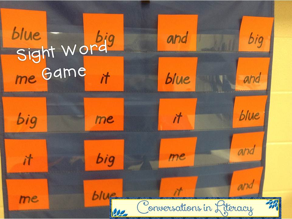 It, Fun word Learn in for Word  sight prep It Literacy: It, Sight activities Play Make Conversations