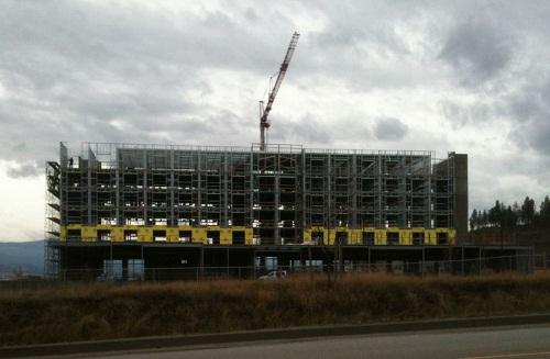 Four Points Kelowna construction