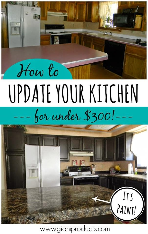 Kitchen Update on a Budget
