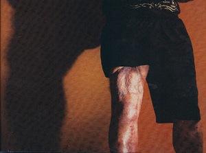 herandez thigh Amateur college gays »
