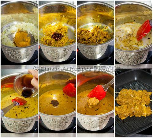Peanut Satay Sauce Procedures