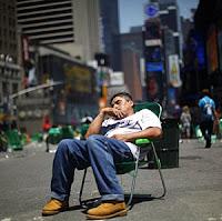 dormido silla