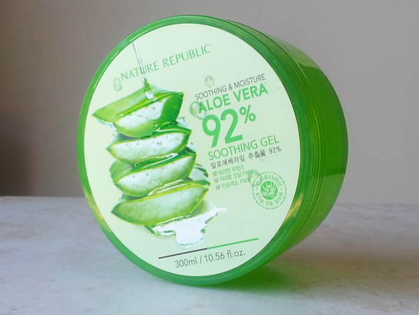 soothing moisture aloe vera soothing gel nature republic