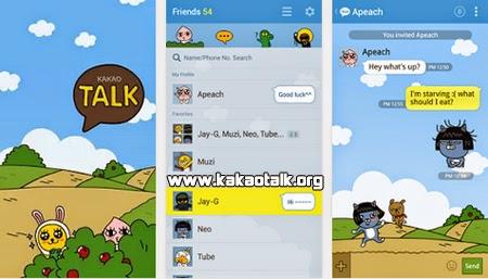 Cambia el fondo de tu Kakao con Hide and Seek-KakaoTalk