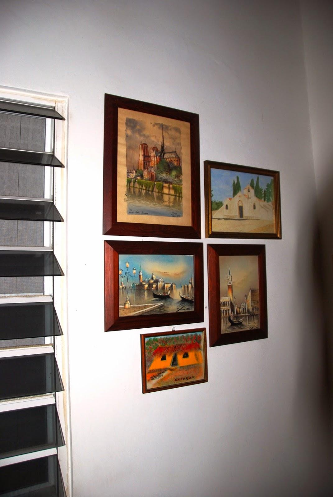 Onderweg op cura ao eindelijk hebben we ons zelf opgehangen in de slaapkamer - Slaapkamer om te versieren ...