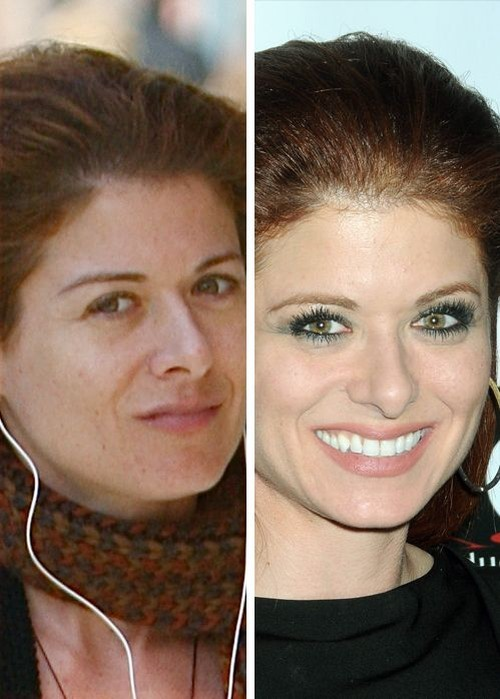 Debra Messing sans maquillage