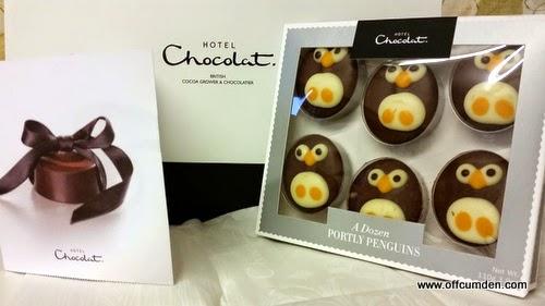 Hotel Chocolat Penguins