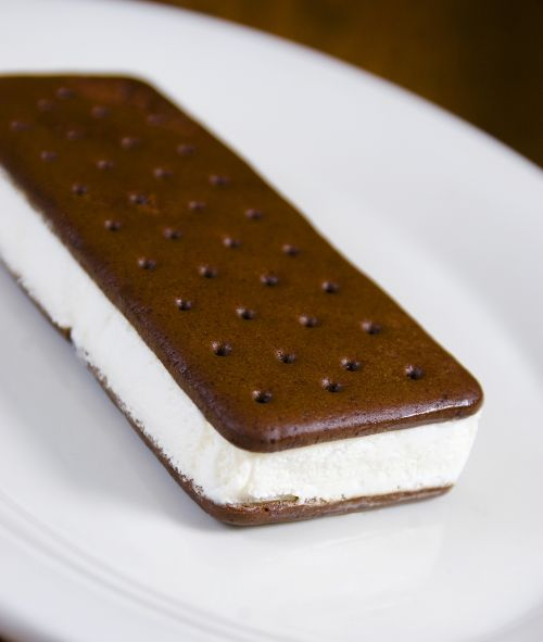 An Evening Meal: Ice Cream Sandwiches