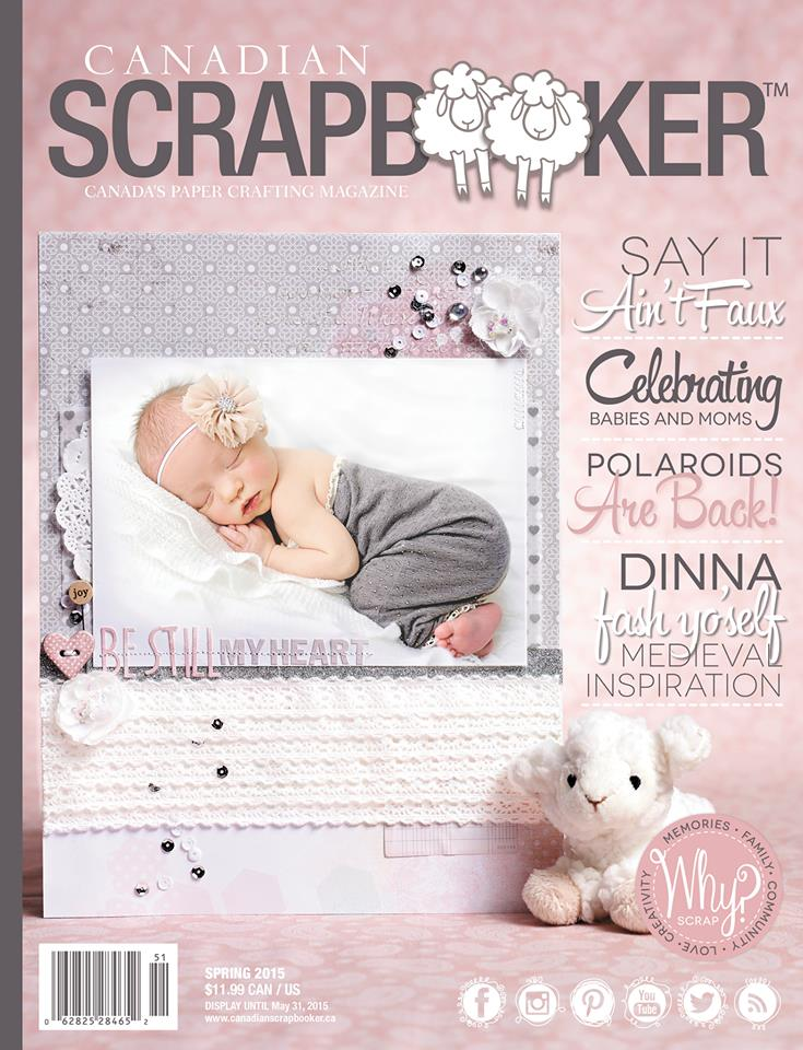 Canadian Scrapbooker Magazine - Spring 2015