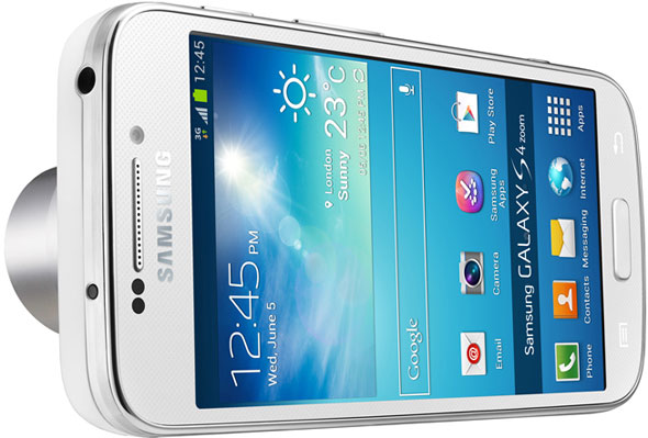 Samsung Galaxy S4 Zoom Smartphone And 16mp Camera With 10x Optical
