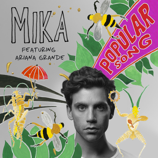 Mika ft Ariana Grande - Popular Song - copertina video ufficiale download