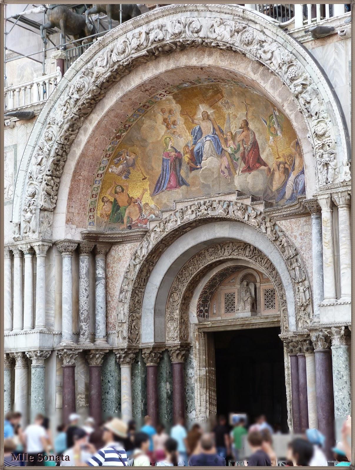 Voyage Italie Venise Basilique Saint Marc