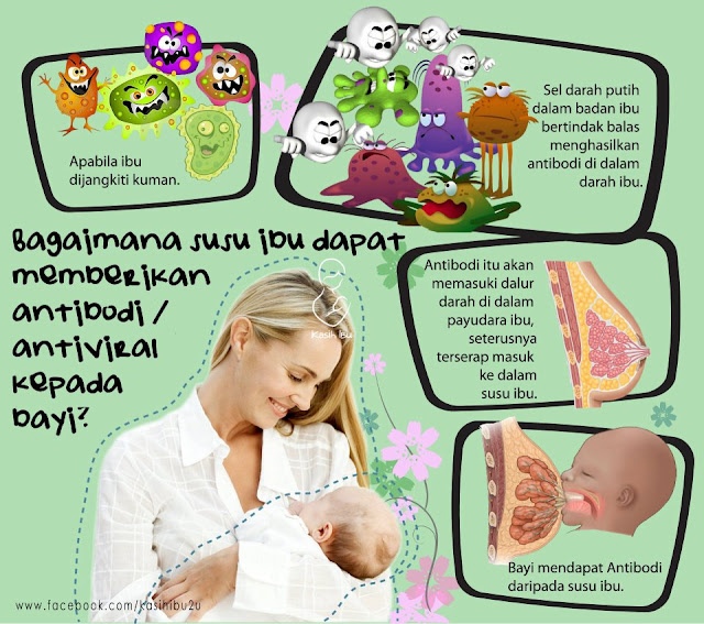 manfaat susu ibu