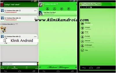BBM MOD Android v2.6.0.30