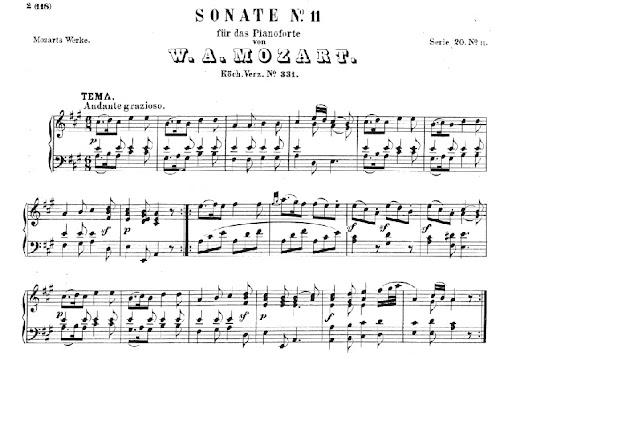 Mozart, Sonata K 331