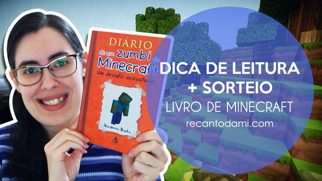 Promoção - Diário de um zumbi no Minecraft