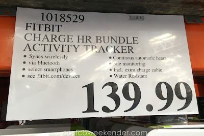 Deal for the Fitbit Charge HR Activity Tracker at Costco