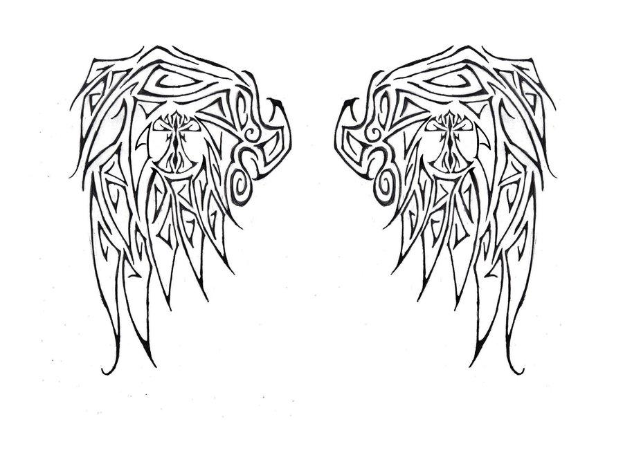 Simple Angel Wing Tattoos Design Angel Tattoos Simple Angel